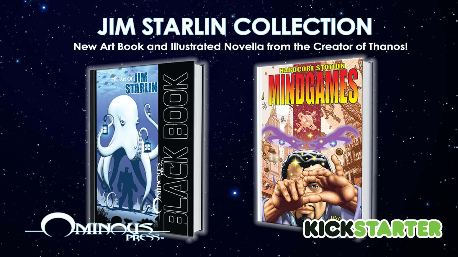 Cosmic Master Jim Starlin's Art Book and Illustrated Novella