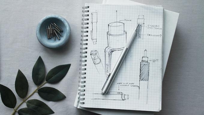 Original sketches of Alt pen