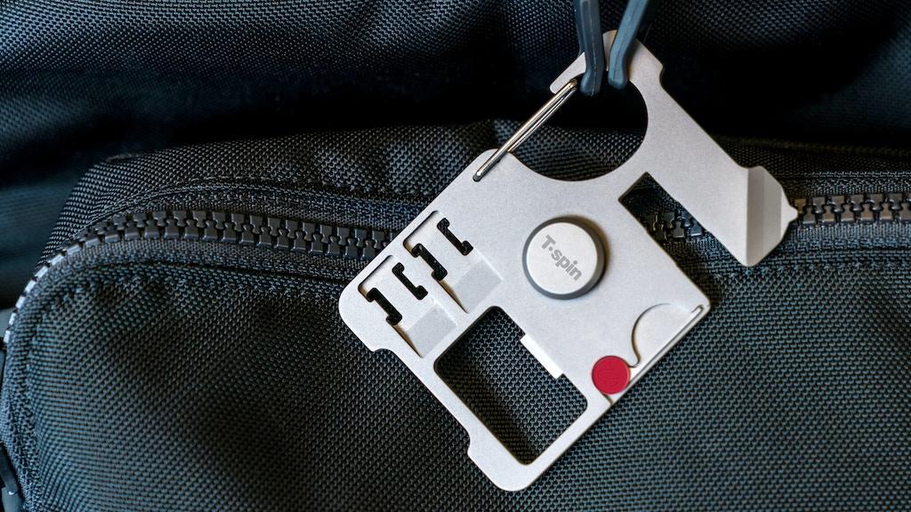 T'spin – Titanium Travel Tool