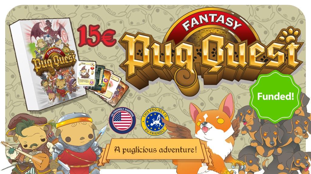 Fantasy PUG QUEST project video thumbnail