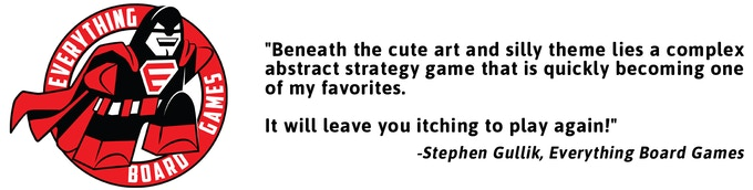 Click for the written review by Stephen from Everything Board Games.