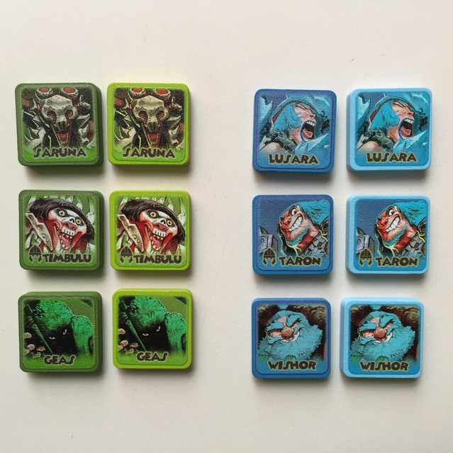 MONSTER LANDS – a strategic dice placement game by Second Gate Games