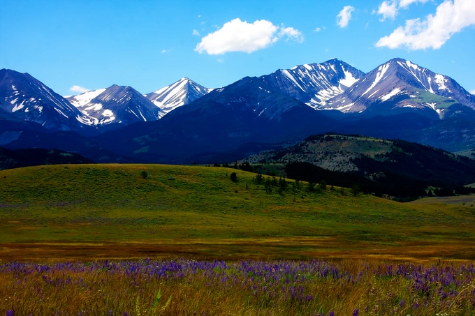 Crazy Mountains - photo by George Burgin Photography