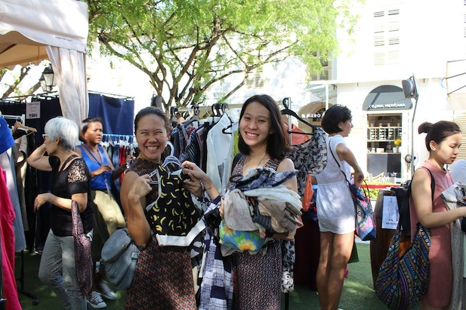 Fashion Revolution Singapore 2016 Clothes Swap Event