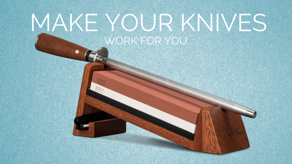 professional knife sharpening system for everyone by vie belles