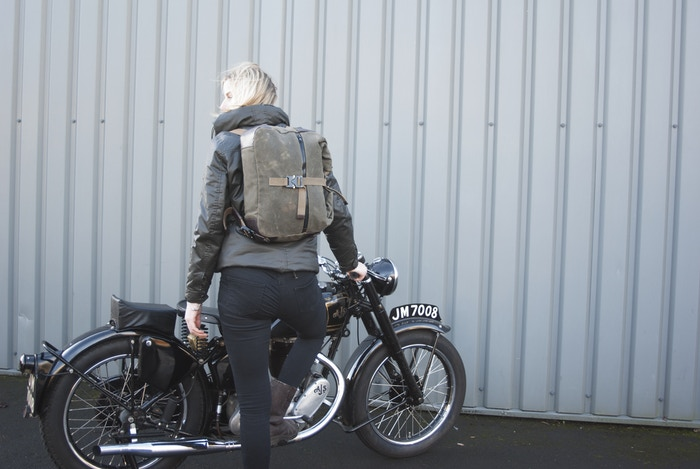 Unique strap system. One bag worn three ways. For rural and urban adventures.