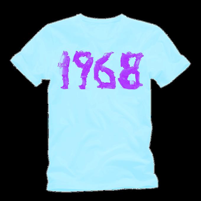 Turquoise 1968 premium cotton tee