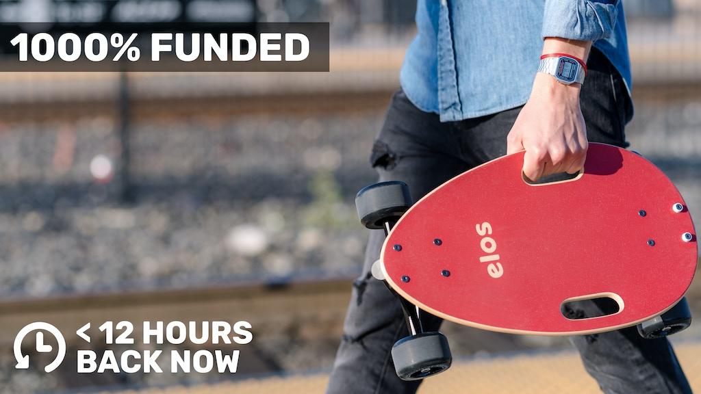 Elos Skateboard | Compact, stable, fun urban cruiser project video thumbnail