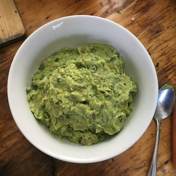 Guac.  Extra Lime.