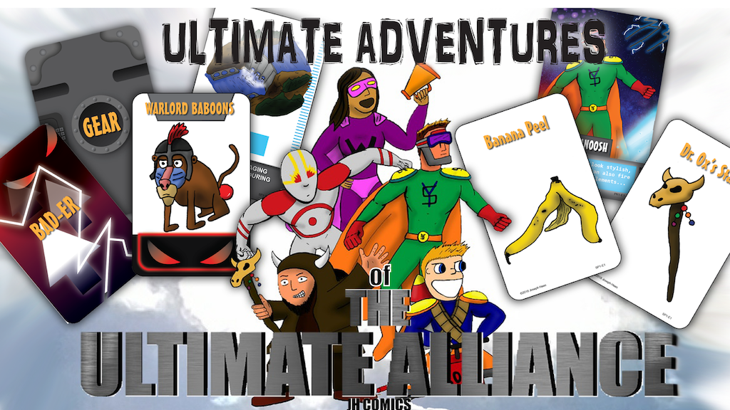 Project image for The Ultimate Adventures of The ULTIMATE ALLIANCE
