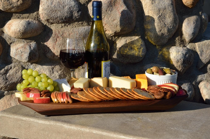 """These large Cheese & Cracker Servers, AKA Surfboards, are 12"""" x 20"""" and perfect for large cheese & cracker or charcuterie presentations. I developed the design after watching a TV show, proving that I'm a child of the media."""
