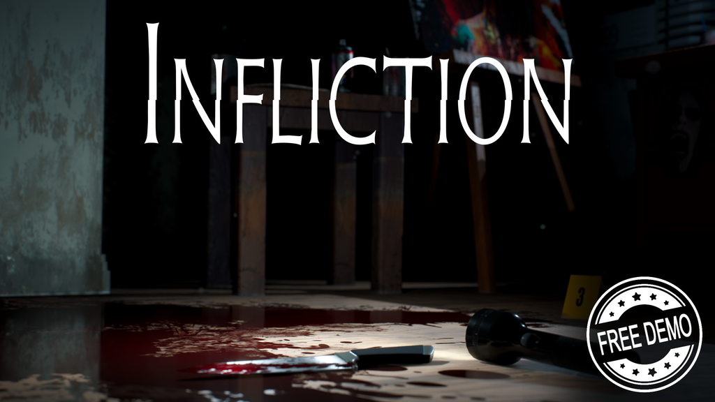 Infliction - a nightmarish suburban horror game by Caustic