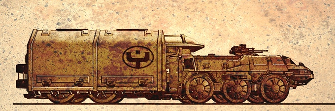 Concept art- Yonga Industries/Alliance Cargo Truck