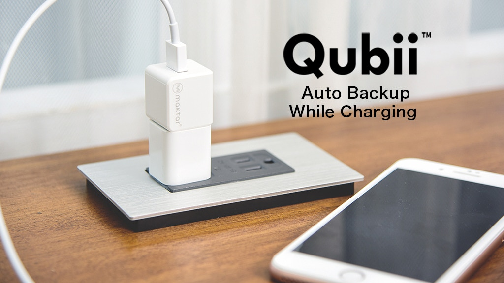Qubii: Auto Backup While Charging Your iPhone project video thumbnail