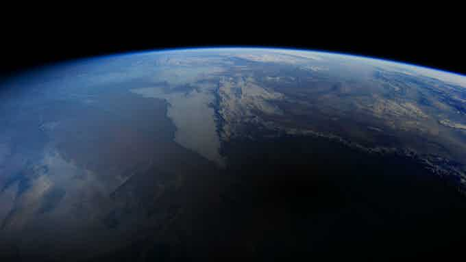 The astronauts' perspective.