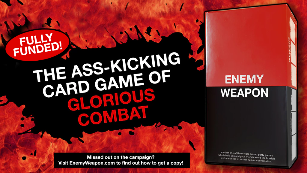 ENEMY WEAPON | The Ass-Kicking Card Game of Glorious Combat project video thumbnail