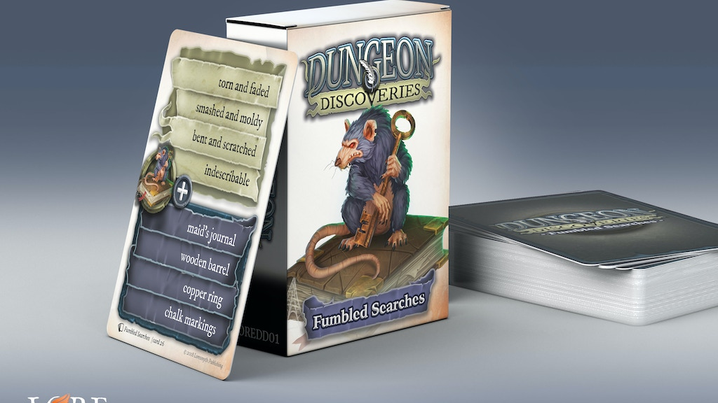 Dungeon Discoveries - Card Decks for any TTRPG is the top crowdfunding project launched today. Dungeon Discoveries - Card Decks for any TTRPG raised over $13932 from 0 backers. Other top projects include Dungeon Doodles Holiday Commissions, Eco-Friendly Is the new trend!, THE HEADLESS HORSEMAN...
