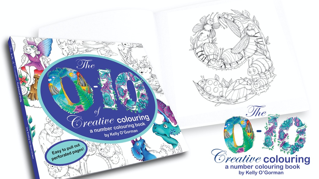 Creative Colouring Numbers Book - A Creative Colouring Book project video thumbnail