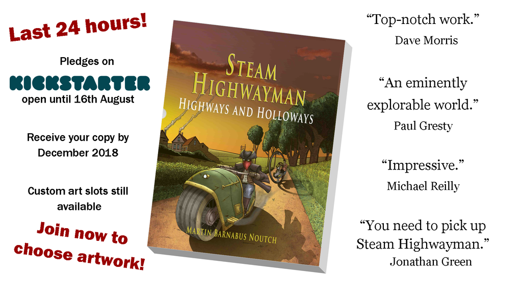 The Return of Steam Highwayman! project video thumbnail