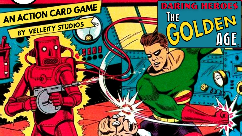 Daring Heroes: The Golden Age, a Cooperative Card Game project video thumbnail