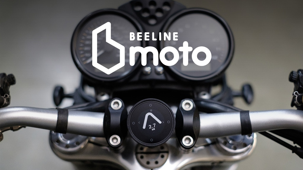 Beeline Moto | smart navigation for motorcycles, made simple project video thumbnail