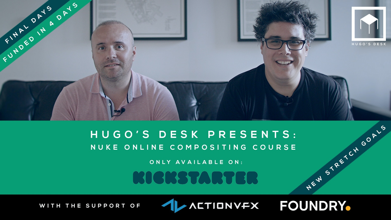 Hugo's Desk Presents: The complete Nuke Compositing course by Hugo's