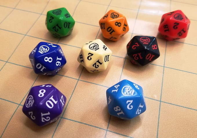 The Crit d20. Get one with the Early Backer Pledge OR shop our website