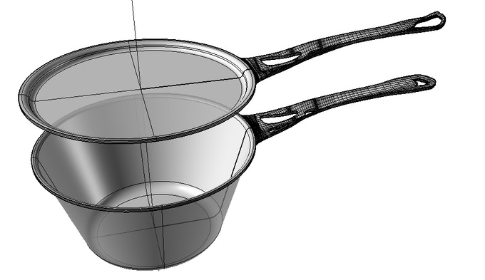 It might look simple now, but Solidteknics seamless wrought cookware is the culmination of over two decades of research by our founder Mark Henry, a mechanical engineer who cooks.....and always wonders if things could be done better!