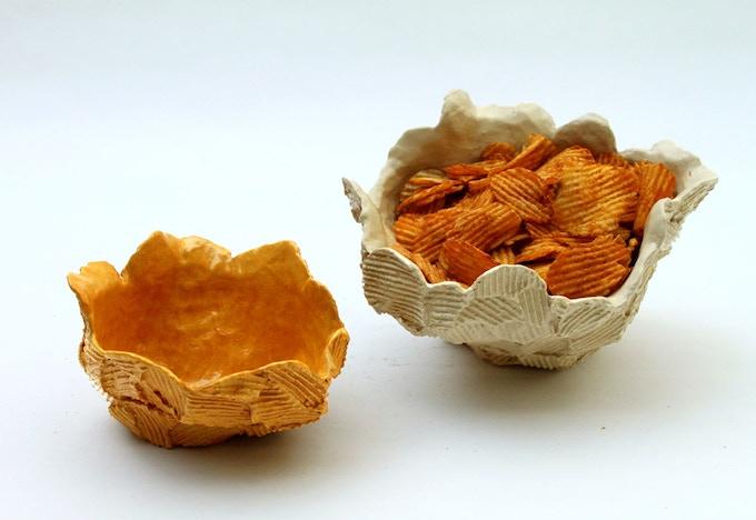 Crisp Bowls - formed by crisping