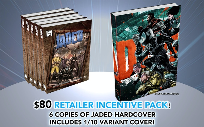 Includes Issue 6 + one Hardcover Copy Signed!
