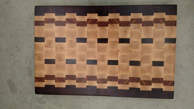 The Best Cutting Board. I will submit multiple wood designs to you so you can choose your perfect board.