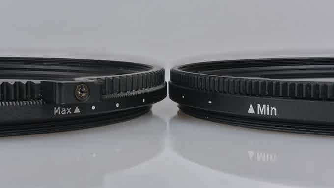 Same thin profile of new (left) and original (right) filters