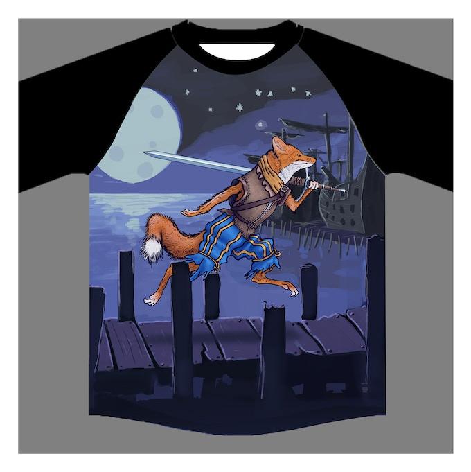 31ece7c9dd3a3d Landsknecht Fox Sports T-Shirt by Sinan Atamer — Kickstarter