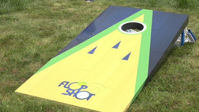 Our durable, all-weather board will be there for you tailgate season after tailgate season.