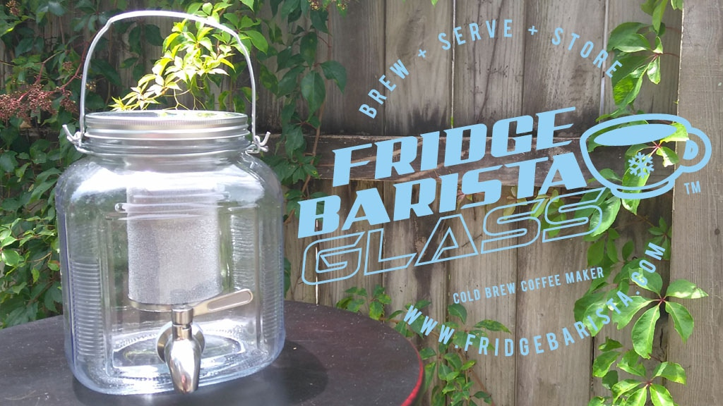 Fridge Barista Glass - The Original Cold Brew Coffee on Tap