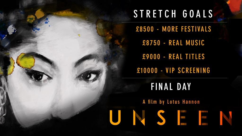 Unseen - a short film project video thumbnail