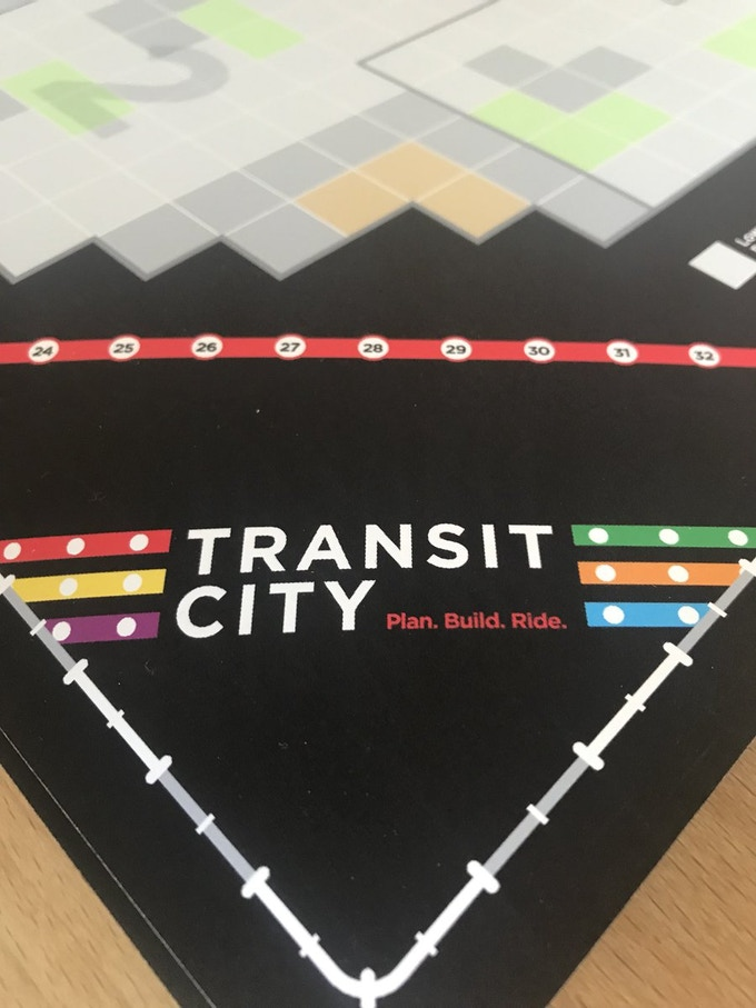 The object of the game is to plan, build & ride a transit network that best serves a city.