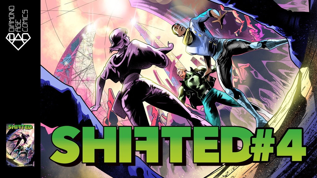 SHIFTED | Stuck in the future | Issue #4 | Comic book series
