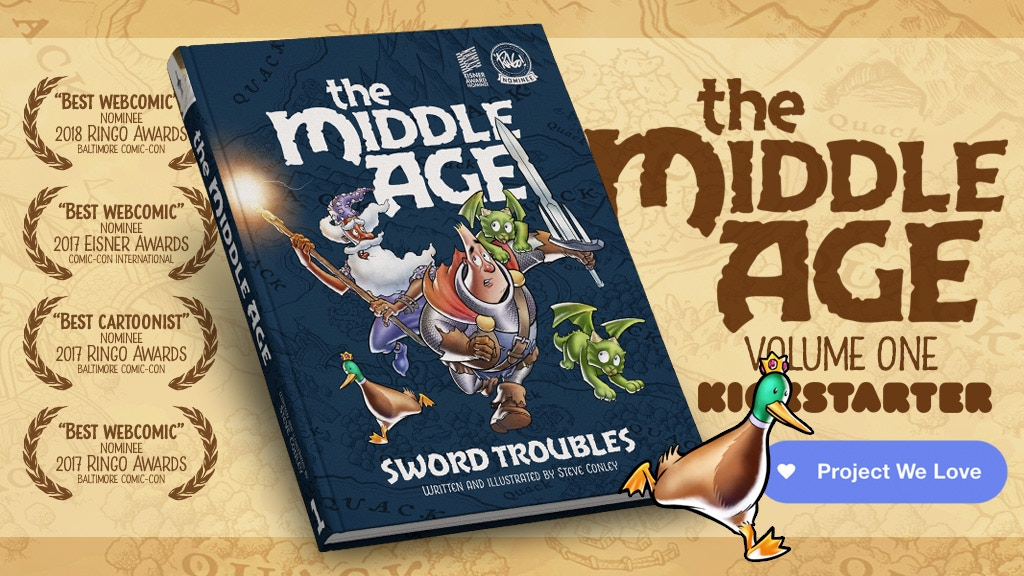 The Middle Age: Volume 1 - Hardcover Collection project video thumbnail