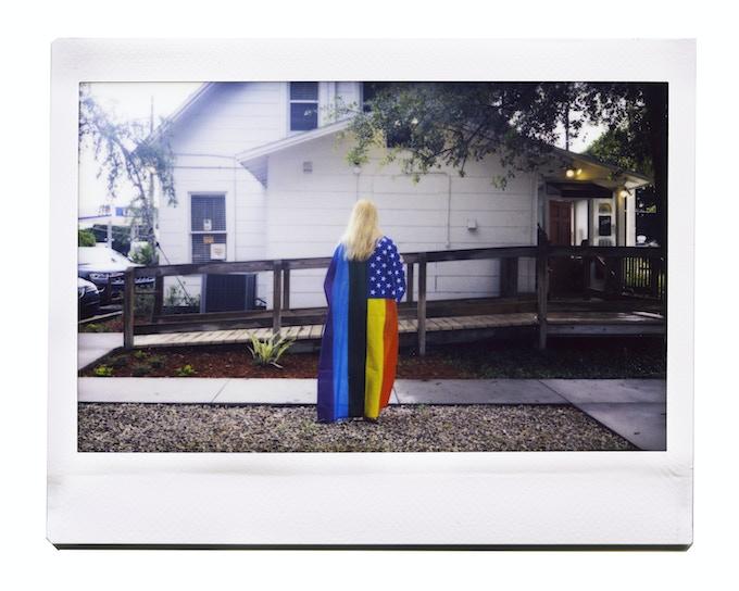 American LGBT Flag