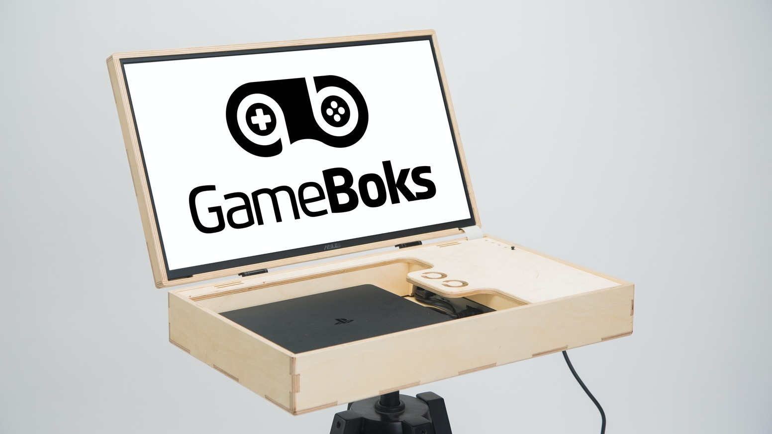 GameBoks is a gaming station that takes gaming further. Made in Denmark of high quality wood from sustainable sources.