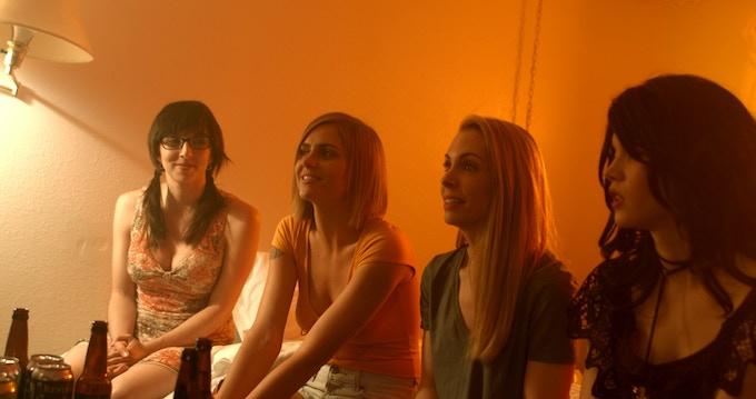 From Left. Angeline Mirenda, Amanda Kott, Elinor Price, Alyssa Leonard