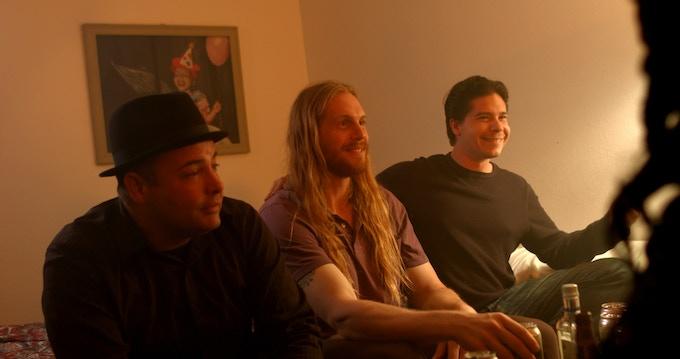 From left. Donald Schell, Eric Prochnau, Steven Vogel