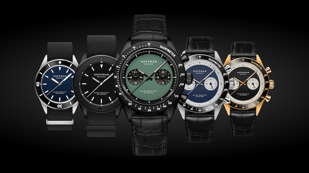 Reinventing The Sports Watch by HOFFMAN