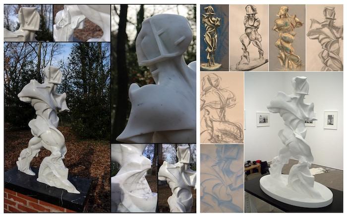 Recreate a lost sculpturebythe FuturistartistUmbertoBoccioni, using digital sculpting techniques and 3D technology.