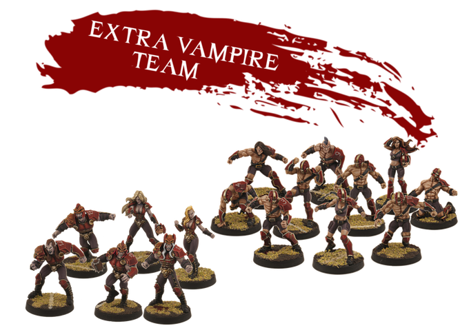 If you take an Early Bird, extra vampire teams you get will have the same conditions