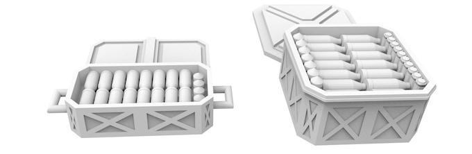 NEW! Ammo Crates (AT, HE, APCT)