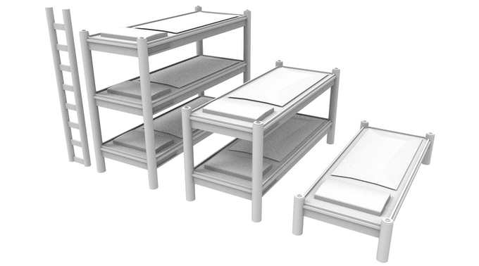 NEW! Sci-Fi Beds