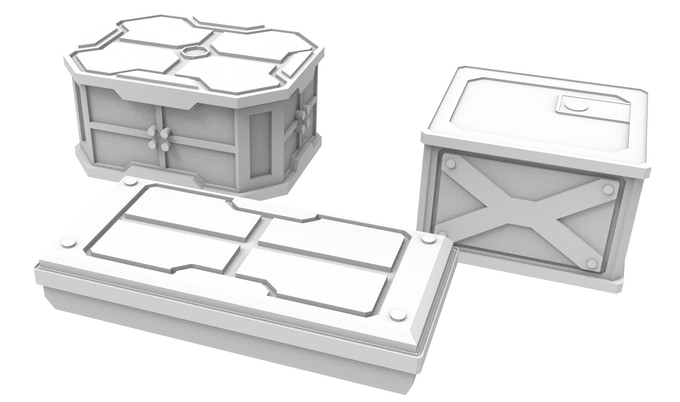 Crates for Explosives and Missiles