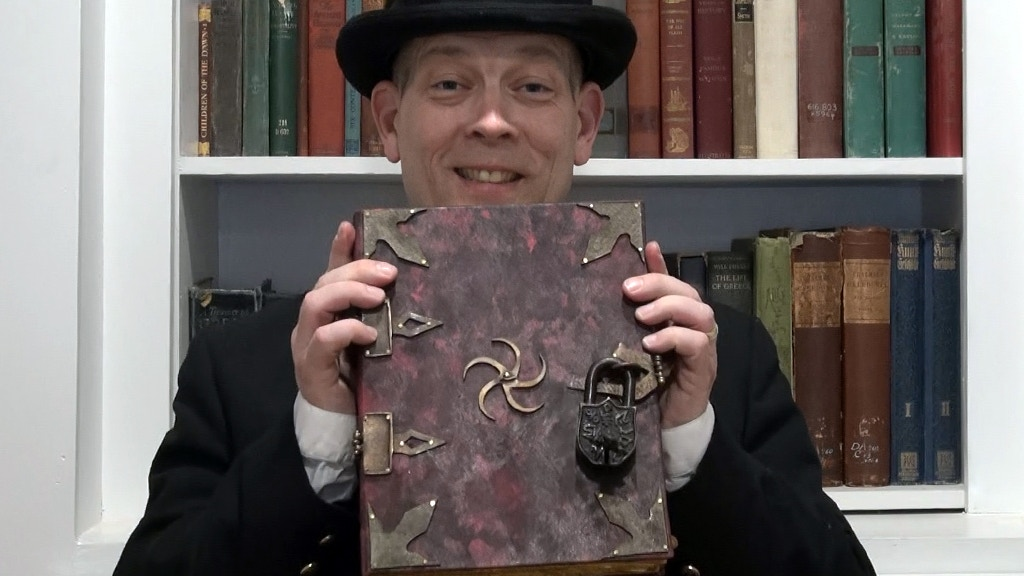 "Lovecraft / Cthulhu based Spell Book ""Book of Nine Scribes"" project video thumbnail"